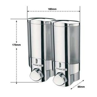 Sagittarius Vienna 2 Section Soap Dispenser Chrome