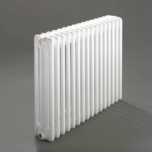 Heatwave Windsor 4 Column Horizontal Radiator 600mm H x 394mm W - 8 Section