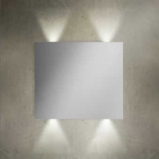 Vitra Brite Illuminated Bathroom Mirror 700mm H x 800mm W