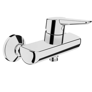 Vitra Solid S Wall Mounted Shower Mixer Tap - Chrome