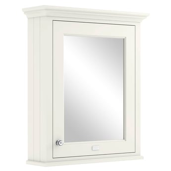 Bayswater Pointing White Bathroom Cabinet 750mm High x 650mm Wide
