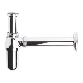 Bayswater Traditional Basin Bottle Trap with 190mm Extension Chrome