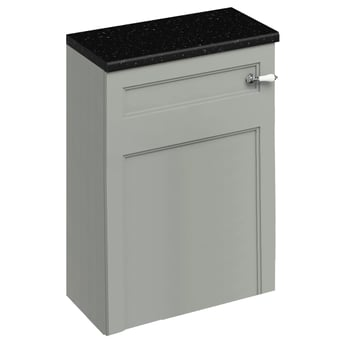Burlington 60 Fitted Back to Wall WC Unit with Concealed Cistern 600mm Wide, Olive