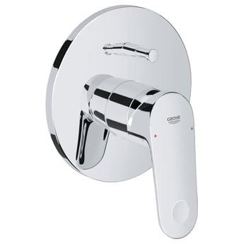 Grohe Europlus Concealed Shower Valve & Diverter Trim, Chrome