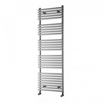 Heatwave Iridio Designer Heated Towel Rail 800mm H x 500mm W - Anthracite