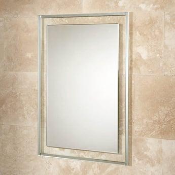 HiB Georgia 60 Designer Bathroom Mirror 800mm H x 600mm W