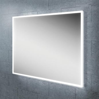 HiB Globe 60 Steam Free LED Bathroom Mirror 800mm H x 600mm W