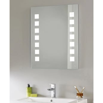 Hudson Reed Maverick Bathroom Mirror, 700mm High x 550mm Wide