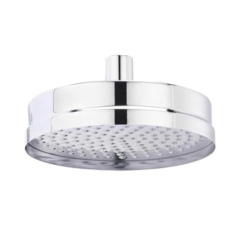 Hudson Reed Tec Pura Concealed Shower Mixer with Fixed Head - Chrome