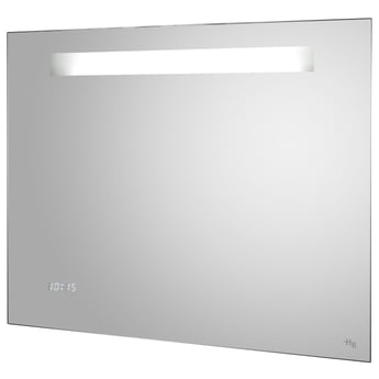 Hudson Reed Vizor Touch Sensor Bathroom Mirror 650mm H x 800mm W