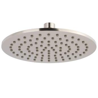 JTP Inox Slim Round Fixed Shower Head 300mm Diameter - Stainless Steel