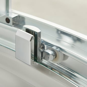 Premier Apex Sliding Shower Enclosure 1100mm x 900mm with Shower Tray - 8mm Glass