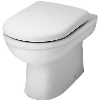 Premier Ivo Back to Wall Toilet Pan 550mm Projection - Soft Close Seat