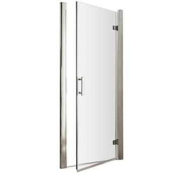 Premier Pacific Hinged Shower Door 760mm Wide - 6mm Glass