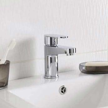 Premier Ratio Mono Basin Mixer Tap and Bath Shower Mixer Tap, Chrome
