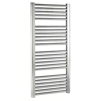 Premier Straight Ladder Towel Rail 1100mm H x 500mm W - Chrome