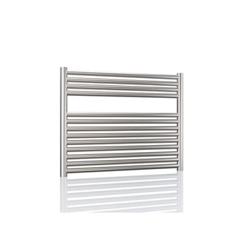 Radox Premier XL Straight Horizontal Heated Towel Rail 600mm H x 1000mm W - Stainless Steel