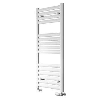 Reina Anita Designer Heated Towel Rail 1195mm H x 530mm W White