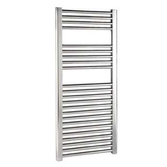 Reina Diva Thermostatic Electric Straight Heated Towel Rail 1000mm H x 500mm W Chrome