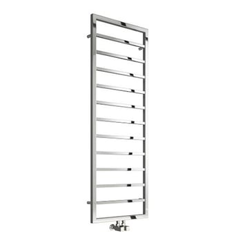 Reina Egna Heated Towel Rail 1495mm H x 500mm W Polished Stainless Steel