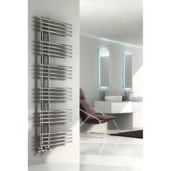 Reina Elisa Designer Heated Towel Rail 1000mm H x 500mm W Chrome