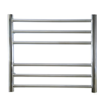 Reina Luna Straight Heated Towel Rail 1500mm H x 500mm W Stainless Steel
