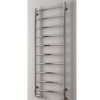 Reina Savio Designer Heated Towel Rail 1080mm H x 500mm W Polished Stainless Steel
