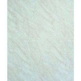 Showerwall Straight Edge Waterproof Shower Panel 900mm Wide x 2440mm High - Ivory Marble