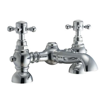 Signature Kensington Bath Filler Tap Deck Mounted - Chrome