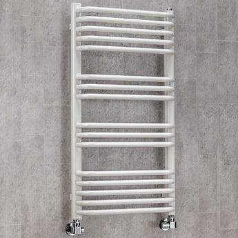 S4H Apsley Heated Towel Rail 620mm H x 600mm W - RAL