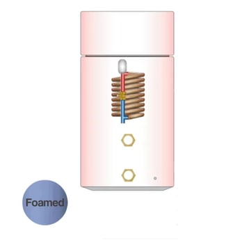 Telford Tristar Thermal Store Direct Open-Vented 1550mm x 450mm Combination Cylinder - 160 litre