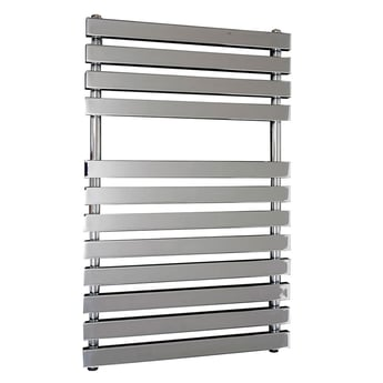Verona Karla Designer Heated Towel Rail 800mm H x 500mm W - Chrome