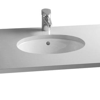 Vitra S20 Compact Under-Counter Basin 420mm Wide 0 Tap Hole