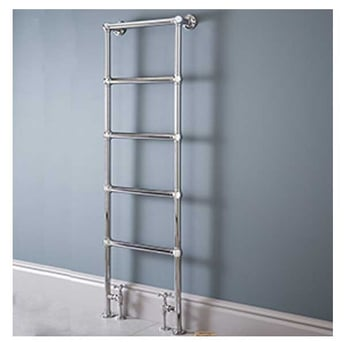 Vogue Ballerina BJ Traditional Heated Towel Rail 1548mm H x 600mm W Electric