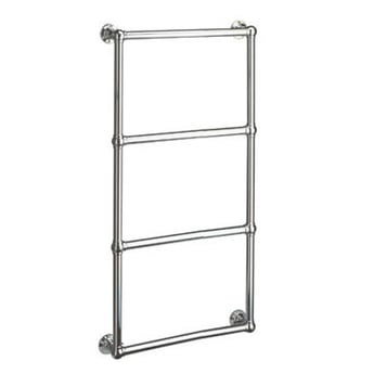 Vogue Ballerina BJ Traditional Heated Towel Rail 1575mm H x 525mm W Central Heating