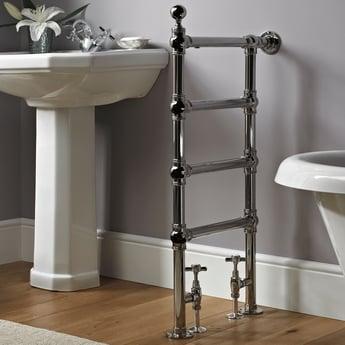Vogue Butler Designer Heated Towel Rail 940mm H x 488mm W Central Heating