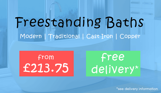 Freestanding Baths from £213.75