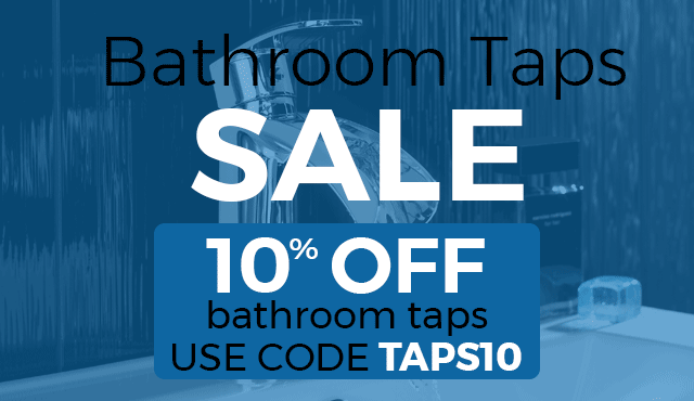 10% Off Bathroom Taps