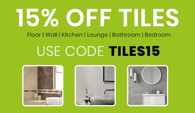 15% Off Tiles
