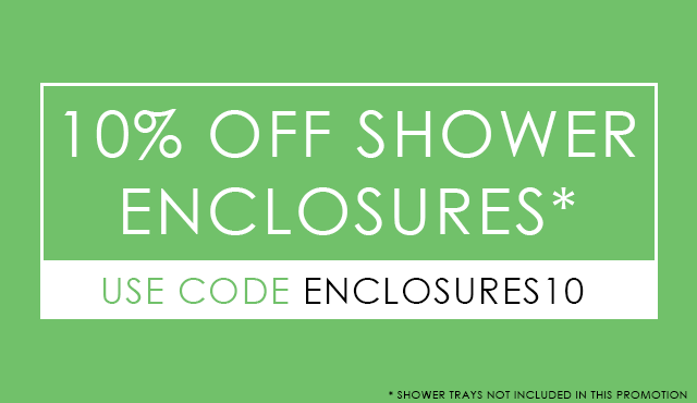 10% Off Shower Enclosures