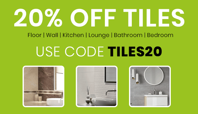 20% Off Tiles