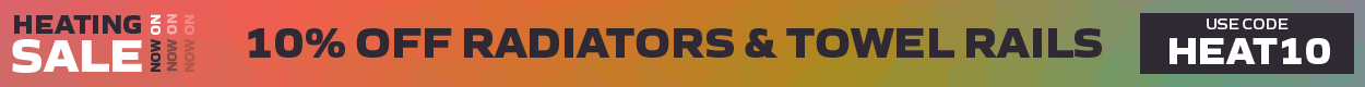 10% Off Radiators & Towel Rails