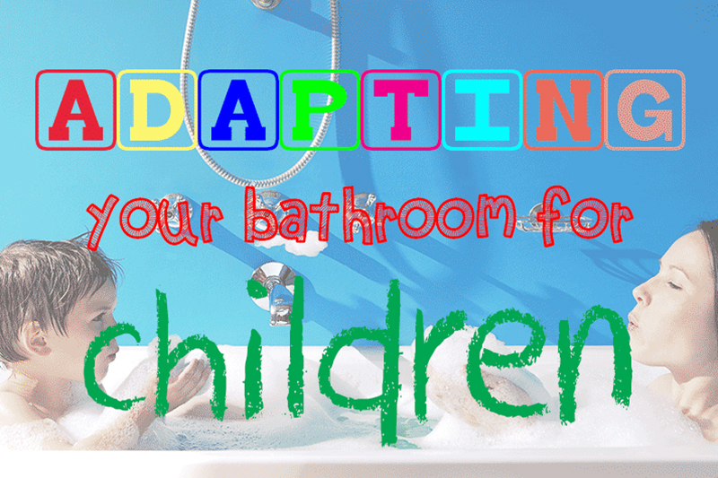 This is an image for the guide Adapting your bathroom for children by heatandplumb