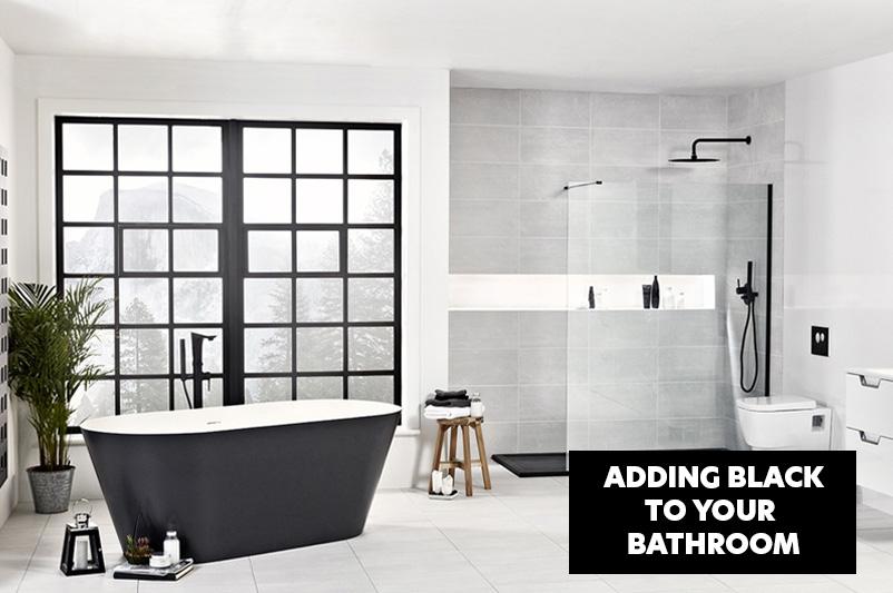Adding Black to Your Bathroom