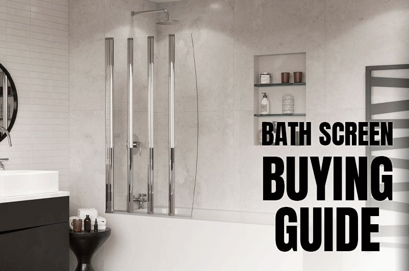 An image showing a bathroom as part of the blog post - Bath screen buying guide by heatandplumb.com