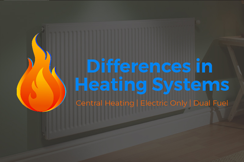 An image for the blog post about the differences in heating systems by Heat and Plumb