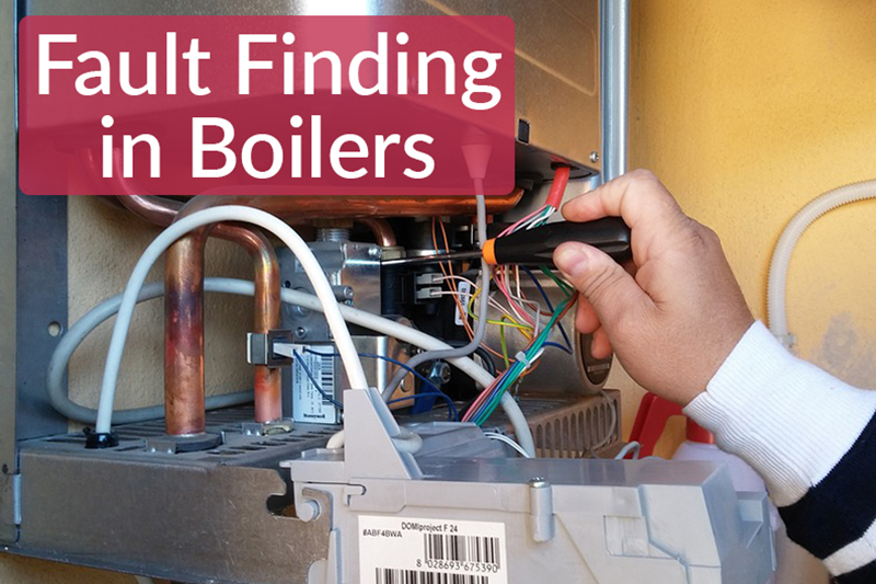 An image showing a boiler repair. As shown in Fault Finding in Boilers on the heatandplumb.com official blog page