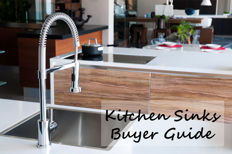 An image showing a kitchen sink and tap from the buyers guide at heatandplumb.com