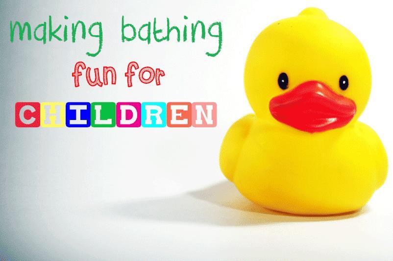 Making Bathing Fun for Children
