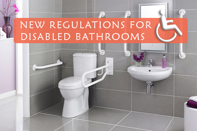 An image showing a disabled bathroom. As part of the New Regulations For Disabled Bathrooms by heatandplumb.com over on their blog